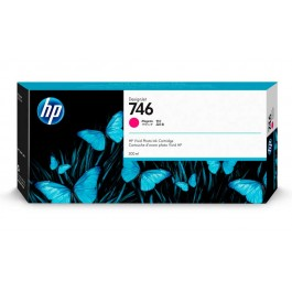 Tinta HP 746 Magenta de 300 ml.