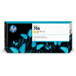 Tinta HP 746 Amarillo de 300 ml.