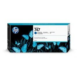 Cartucho tinta HP 747 Azul cromático P2V85A