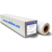 rollo papel blanco adhesivo