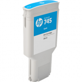Tinta HP 745 Cían F9K03A