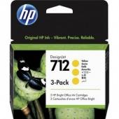Cartucho tinta HP 712 Amarillo
